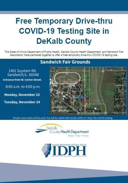 DeKalb County Health Department Free Testing