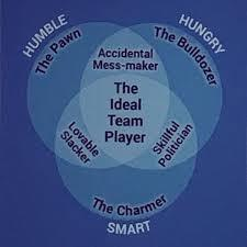 Ideal Team Player Venn Diagram